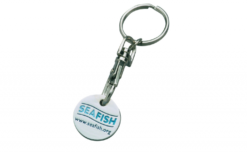 Promotional Enamel Trolley Coin Keyring Pa Promotions