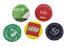 Promotional 45mm Button Badge