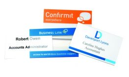 Promo Clear PVC Conference Name Badge