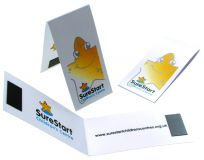 Promo Folding Magnetic Bookmark
