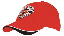 Promotional Baseball Cap with Indented Peak