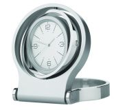 Promotional Spinner Metal Desk Clock