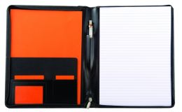 Promotional Warwick A4 Zipped Folder