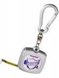 Promotional 1 Metre Tape Measure Keyring