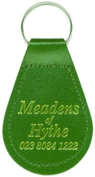 Promotional Recycled Leather Keyfob