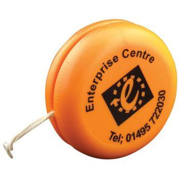 Promotional 55mm Yo-Yo - promosafe plastic yoyo