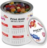 Promotional Jelly Bean Factory Large Paint Tin
