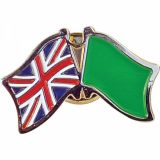 Stamped Iron Hard Enamel Metal Badge