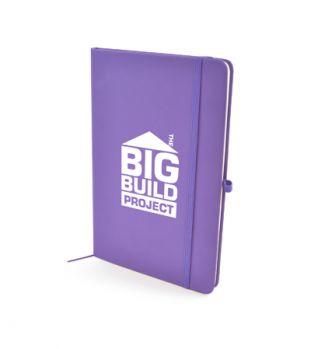 Branded A5 Mole Soft PU Notebook