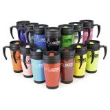 Promotional Polo Plus Thermal Travel Mug