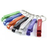 Branded Ralli Metal Bottle Opener Keyring