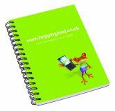 Promotional Wiro Smart A6 Wiro-bound Notebook