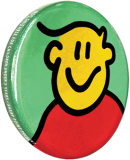 Promotional 32mm Button Badge