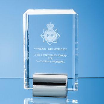 Bespoke 15cm Optic Rectangle Award
