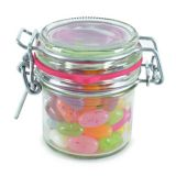 Promotional Clip Top Sweet Jar