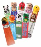 Promotional Animal Logobugs Bookmarks