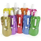 Promotional Metallic Fold Up Water bottle