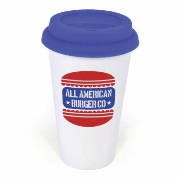 Promotional Plastic Take Out Mug