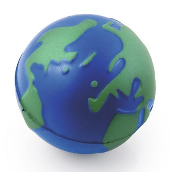 Promotional Globe Stress Toy