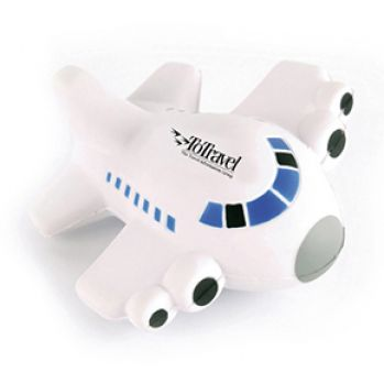 Promotional Aeroplane Stress Toy