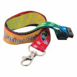 Promotional 25mm Dye Sublimation Print Lanyard
