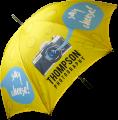 Promotional Bedford Silver Golf Umbrella