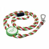 Promotional Rope Lanyard with Tab inset