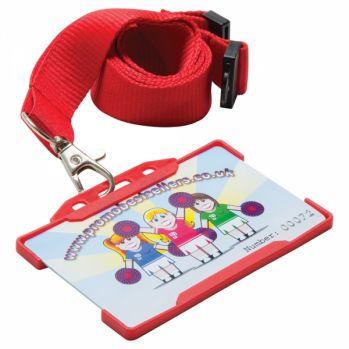 Promotional Rigid Lanyard Card Holder