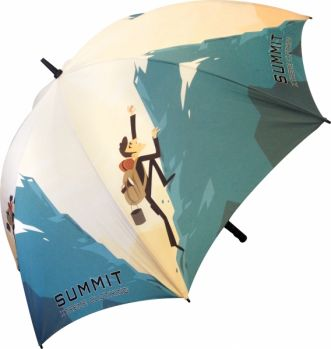 Promotional British Made Fibrestorm Golf Umbrella