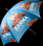 Promotional Fibrestorm Auto Golf Umbrella