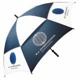 Promotional Wind Proof Supervent Golf Umbrella