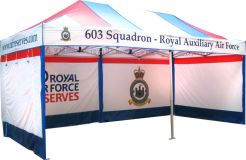 Full Colour Print 6m x 3m Gazebo