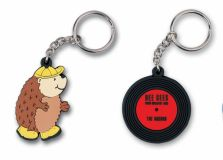 Standard Shape Layered PVC Keyring