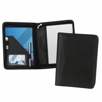 Promotional Houghton A5 Zipped conference Folder