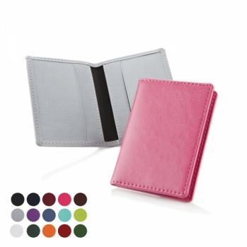 Personalised Belluno Two Card Wallet