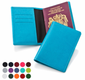 Personalised Deluxe Belluno Passport Cover - Coloured
