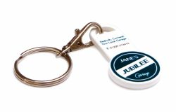 Promotional Recycled Trolley Stick Keyring