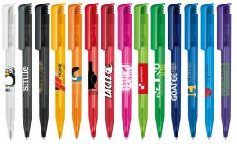 Printed Super Hit Frosted Plastic Ball pen