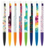 Printed Liberty Xtreme Plastic Ball Pen with Soft Grip