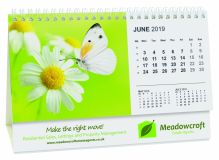 Promotional Smart Calendar Panorama Easel