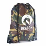 Promotional Camo Drawstring Bag