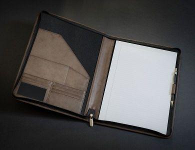 Promotional Prestbury A4 Zipped Folder