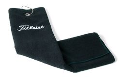 Embroidered Titleist TriFold Golf  Towel