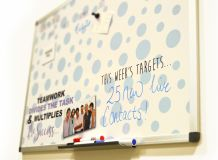 Custom Printed Magnetic Whiteboard