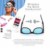 Promotional Bluetooth Sunglasses