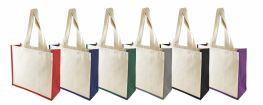 Printed Kongoni 10oz Canvas Shopping Bag