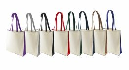 Printed Kuku 10oz Canvas Shopping Bag