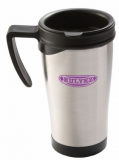 Branded Stainless Steel Thermo Travel Mug