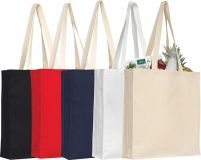 Promotional Aylesham 8oz Coloured Cotton Gusseted Tote Bag