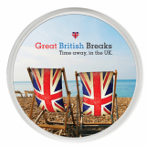 Promo Acrylic Coaster with Full Colour Printed Insert